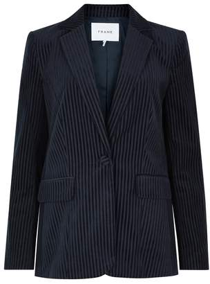 Frame Variegated Ribbed Corduroy Jacket
