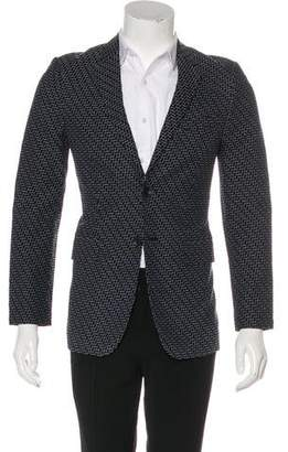Rag & Bone Geometric Embroidered Blazer