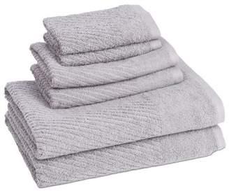 ADI Cambridge Quick Dry 6 Piece Towel Set In Cloud Burst