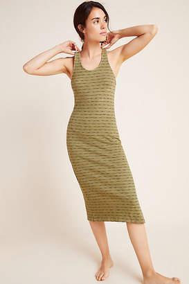 Monrow Virginia Striped Tank Dress