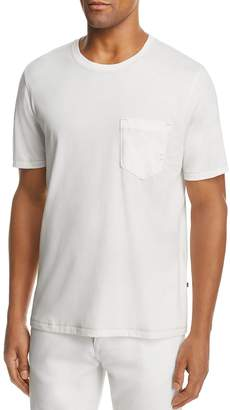 Billy Reid Washed Cotton Pocket Tee