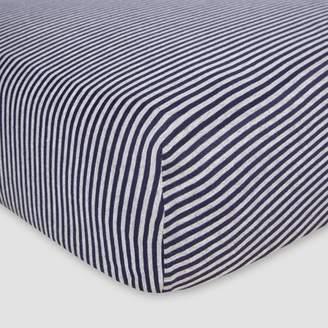 Burt's Bees Baby® Organic Fitted Crib Sheet - Bee Essentials - Stripe