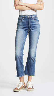 3x1 W5 Empire Crop Bell Jeans