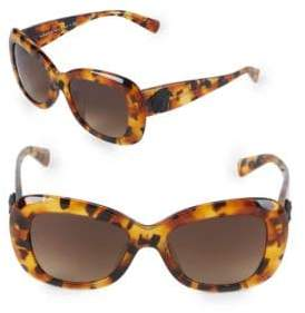Versace 54MM Butterfly Sunglasses