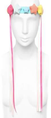 Francesco Ballestrazzi Ribbon Stars Silk Headband