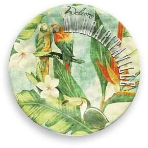 Margaritaville Vintage Tropical Melamine 8.5 Salad Plate