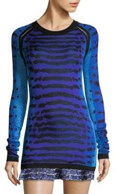 Silk Jacquard Sweater
