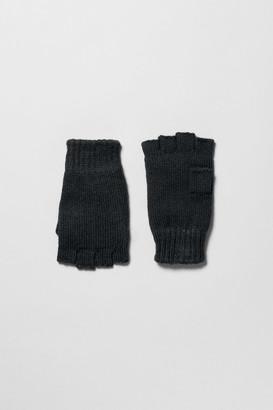 Weekday Wood Gloves - Black