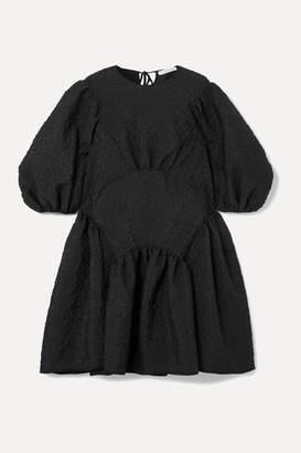 Cecilie Bahnsen - Oversized Cloqué Dress - Black