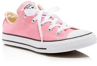 Converse Girls' Chuck Taylor All Star Lace Up Sneakers - Toddler, Little Kid
