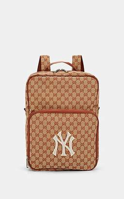 Gucci Men's NY YankeesTM Canvas Backpack - Lt. brown