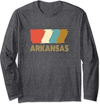 Vintage Arkansas Home State Long Sleeve T-shirt