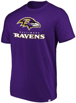 Majestic Men's Baltimore Ravens Flex Logo Tee