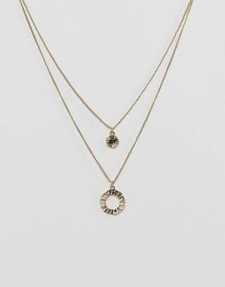 Pieces double layer necklace