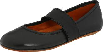 Gentle Souls by Kenneth Cole Women's Gabby Mary Jane Flat, Black