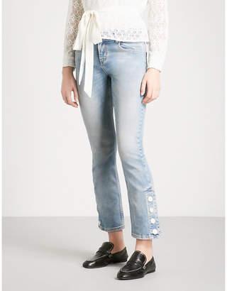 Maje Popsem straight mid-rise jeans