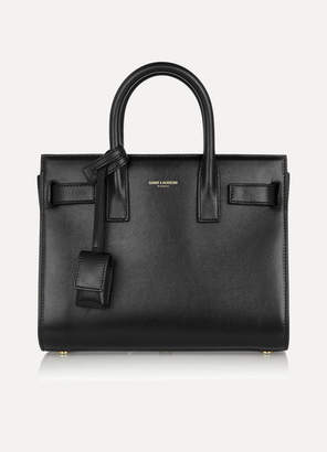 Saint Laurent Sac De Jour Nano Leather Tote - Black