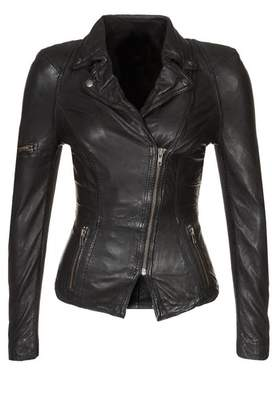 Moto Exemplar Women's Genuine Lambskin Leather Jacket LL591 M