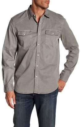 Lucky Brand Western Work-Wear Long Sleeve Shirt