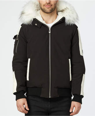 Noize Men Alex Bomber With Quilted Trim