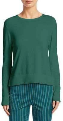 Akris Punto Ribbed Cotton Pullover
