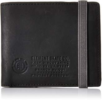 Element Men's Endure Bi-Fold Wallet, Black