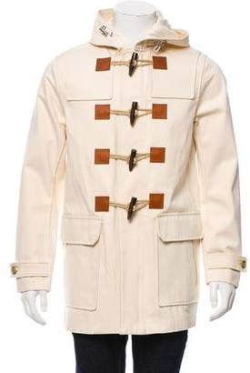 Michael Kors Toggle Button Hooded Jacket w/ Tags