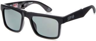 SPY Optic The Fold 673174034864 Polarized Flat Sunglasses, (Black/Happy Gray/Green Polar)