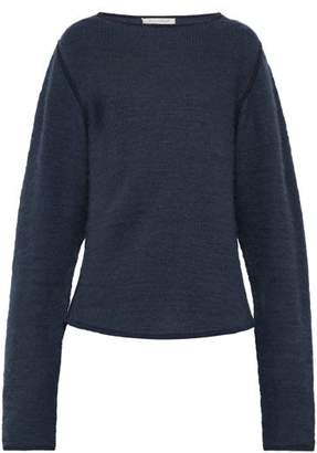 Denis Colomb Crew Neck Cashmere Sweater - Mens - Blue
