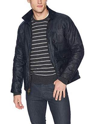 Billy Reid Men's Waxed Cotton Water Resistant Fully Lined Dempsey Jacket