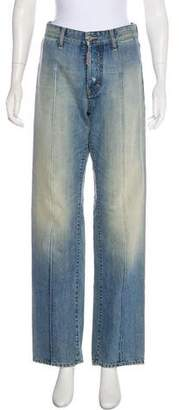 DSQUARED2 Distressed High-Rise Jeans