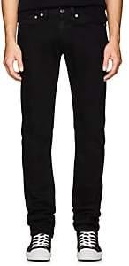 Helmut Lang Men's Low-Rise Skinny Jeans-Black