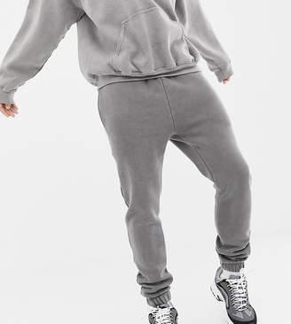 Reclaimed Vintage inspired overdye jogger in gray