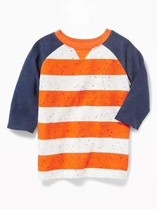 Old Navy Striped Raglan Tee for Toddler Boys