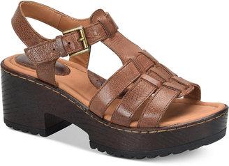b.o.c Georgette Platform Sandals Women's Shoes $90 thestylecure.com