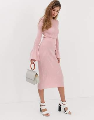 Asos Design DESIGN two-piece knitted midi skirt
