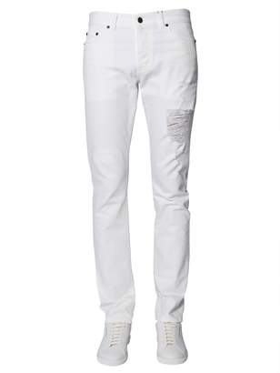 Saint Laurent Low-waist Slim Fit Jeans