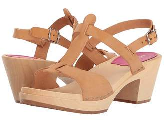 Swedish Hasbeens Greek Sandal High Heels