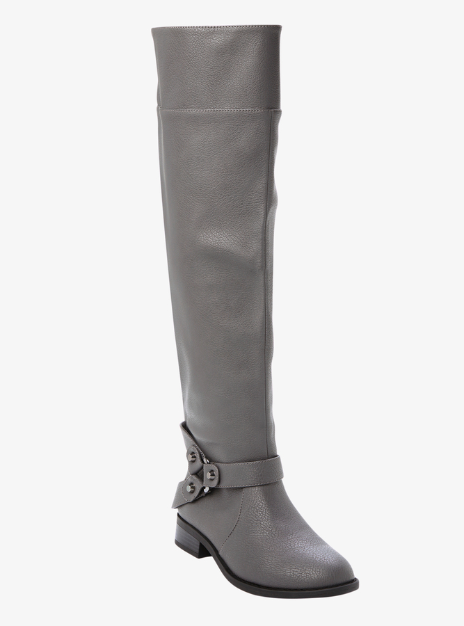 Torrid Over-The-Knee Harness Boots (Wide Width)