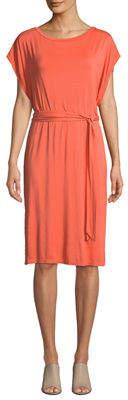 Three Dots Dolman-Sleeve Easy Dress