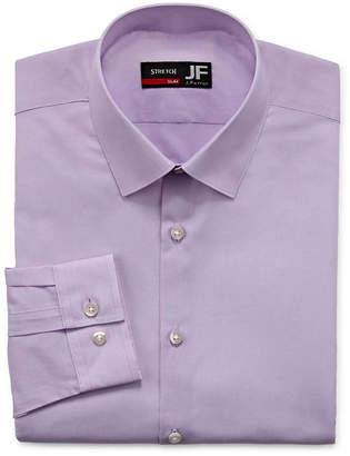 0955eb869fe96 Jf J.Ferrar Mens Spread Collar Long Sleeve Stretch Dress Shirt