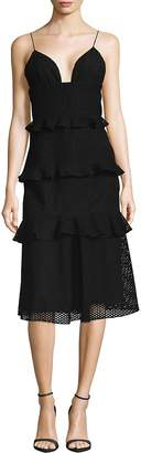 Cushnie et Ochs Women's Cotton Midi Dress