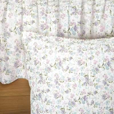 Wayfair Belves Lily Floral 135 Thread Count Platform Bed Skirt
