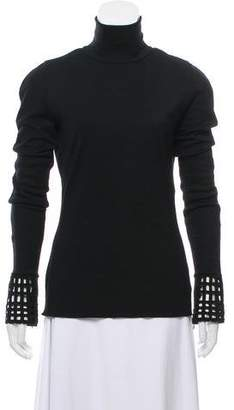 Andrew Gn Wool Long Sleeve Top