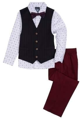 Nautica Anchor Shirt 4-Piece Suit (Toddler Boy)