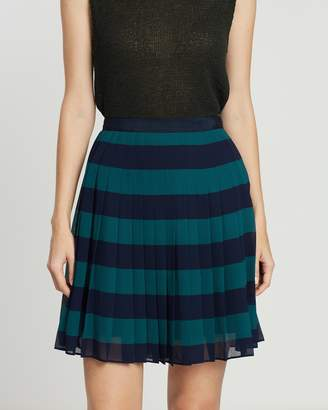 Tommy Hilfiger Rose Pleated Mini Skirt