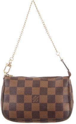 Louis VuittonLouis Vuitton Damier Ebene Mini Pochette Accessoires