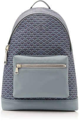 Pinel et Leather And Coated-Canvas Backpack