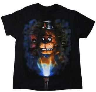 Five Nights At Freddy's Five Nights at Freddy's Flashlight Youth Black T-Shirt