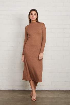 Rachel Pally Metallic Rib Mara Dress - Caramel Gold